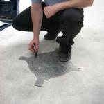 Floor Marking Template