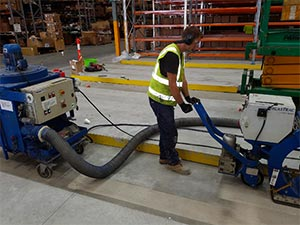 Preparation Under Way for the Installation of the Industrial Floor Screed to the VNA Area