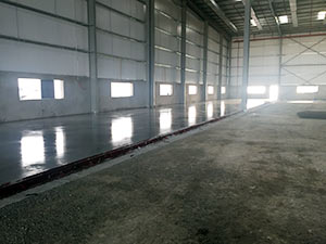 wide bay floor
