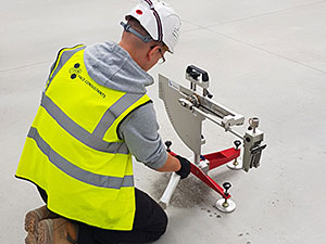 Slip Test / Risk Assessment of a Warehouse Floor