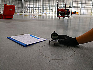 Floor Testing at Konfloor